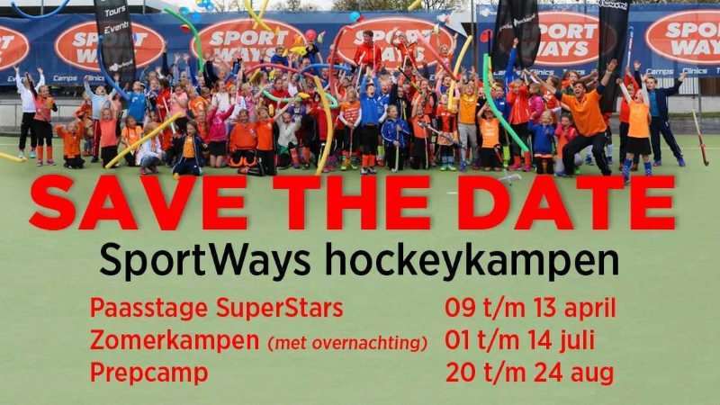 Save the dates hockey kampen @ Dragons